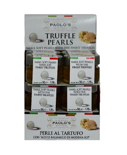 TRUFFLE PEARLS PAOLO'S PK/SZ:  12/50 GR