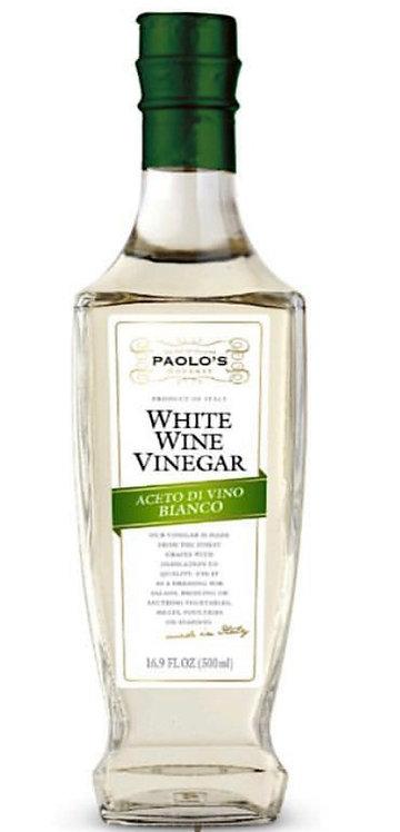 WHITE WINE VINEGAR PK/SZ: 6/500 ML