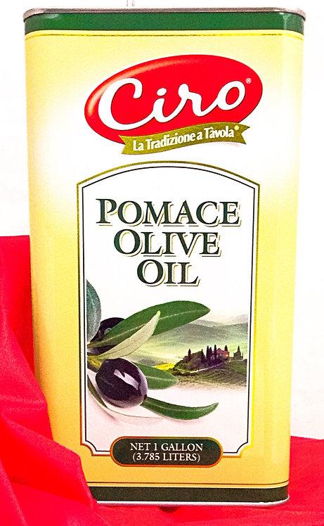 POMACE OLIVE OIL CIRO  TINS  PK/SZ:  6/1 GAL