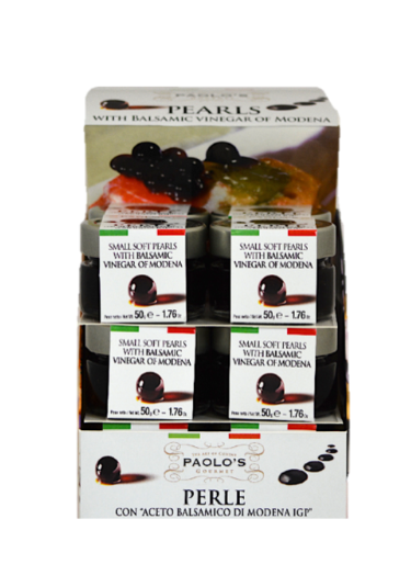 BALSAMIC PEARLS PAOLO'S PK/SZ:  12/50 GR