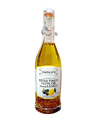 Extra Virgin Flavored Olive Oil w/ Lemon 6/250 ml