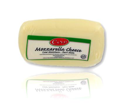 Mozzarella Cheese P/S CIRO 8/6 LB