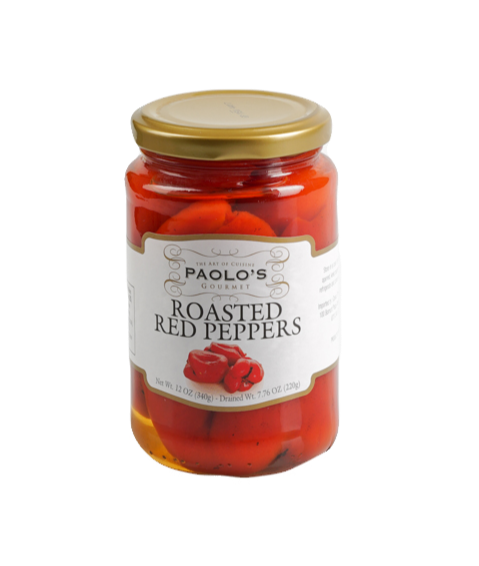 PEPPERS RED ROASTED FIRE PAOLO      PK/SZ:  12/12 oz