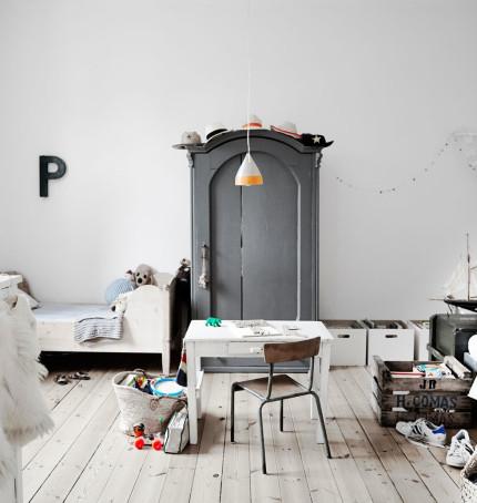Inspiracija – dječje vintage sobe