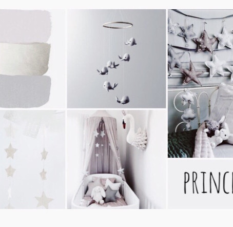 Little princess…. moodboard and a free printable
