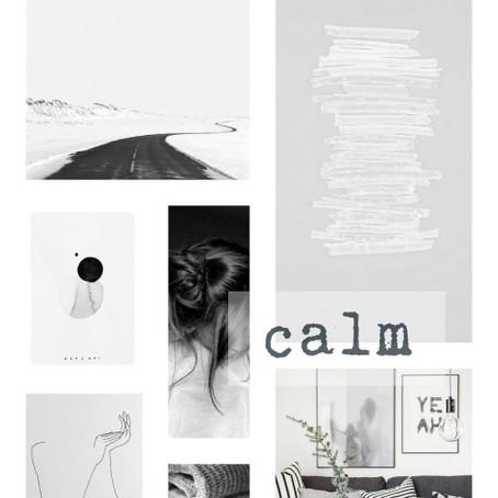 Calming…
