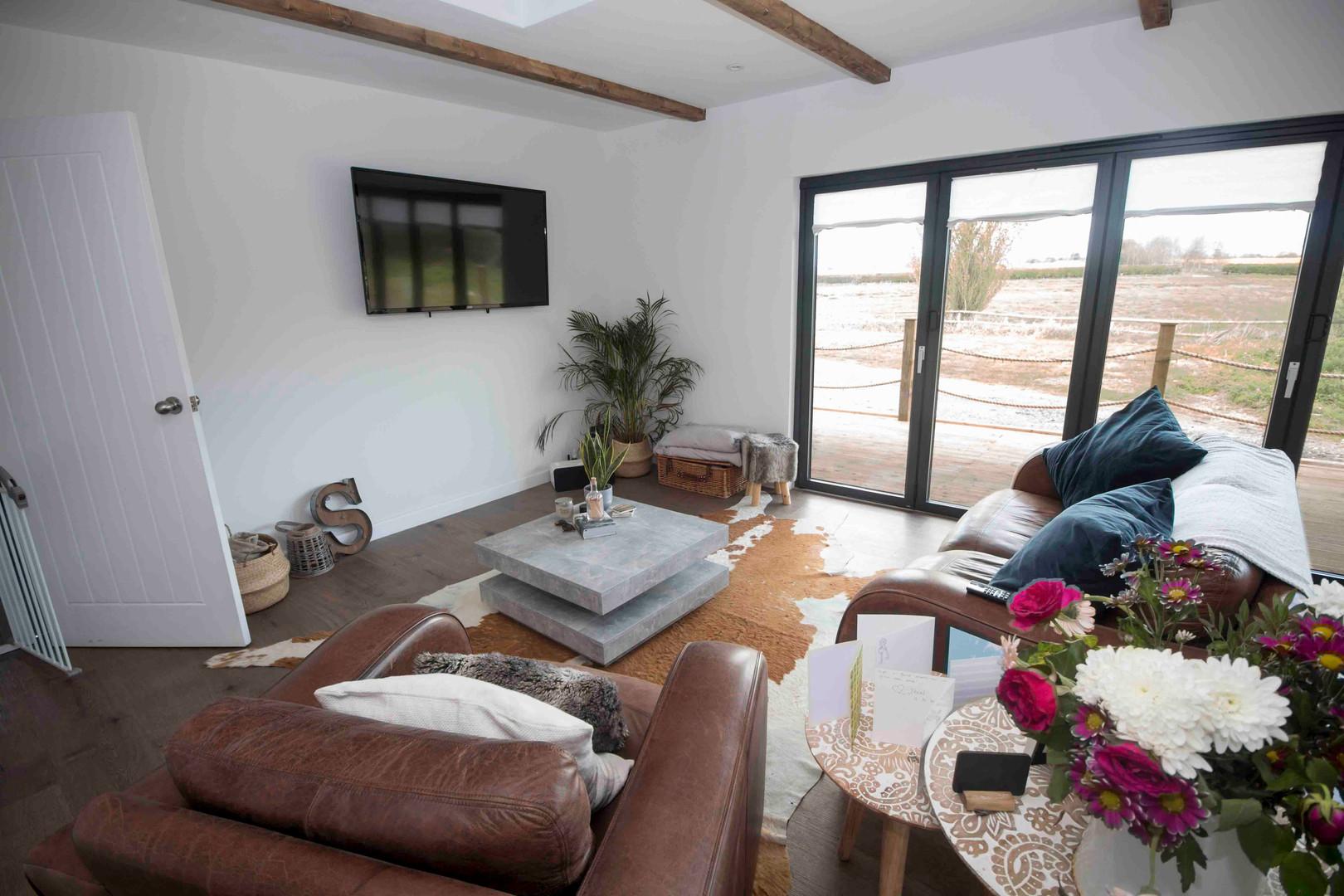 Timber Lodge Lounge Area