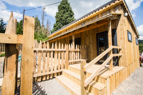"""Timber Lodge Built For """"Another Place"""" Penrith"""