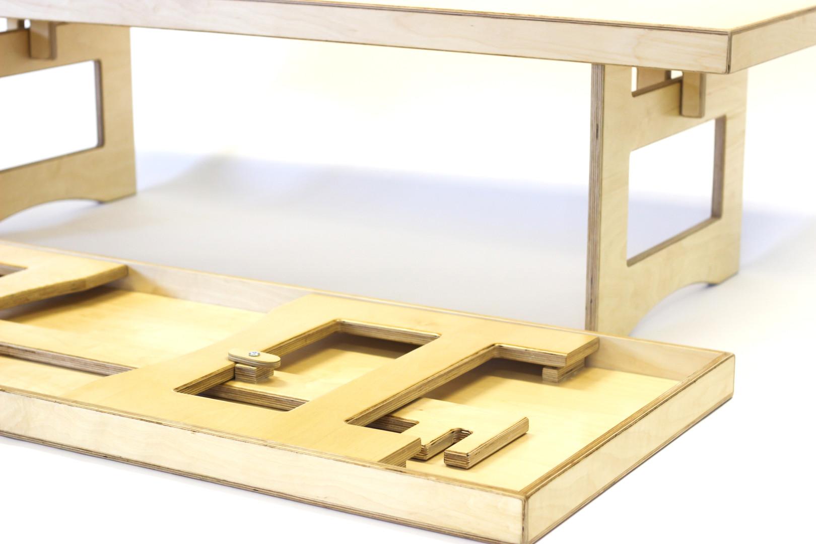 Folding Nursery Table