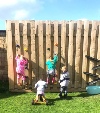 Outdoor Learning /Climbing Walls