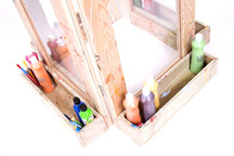 4 Sided Art Easel by The New Factory