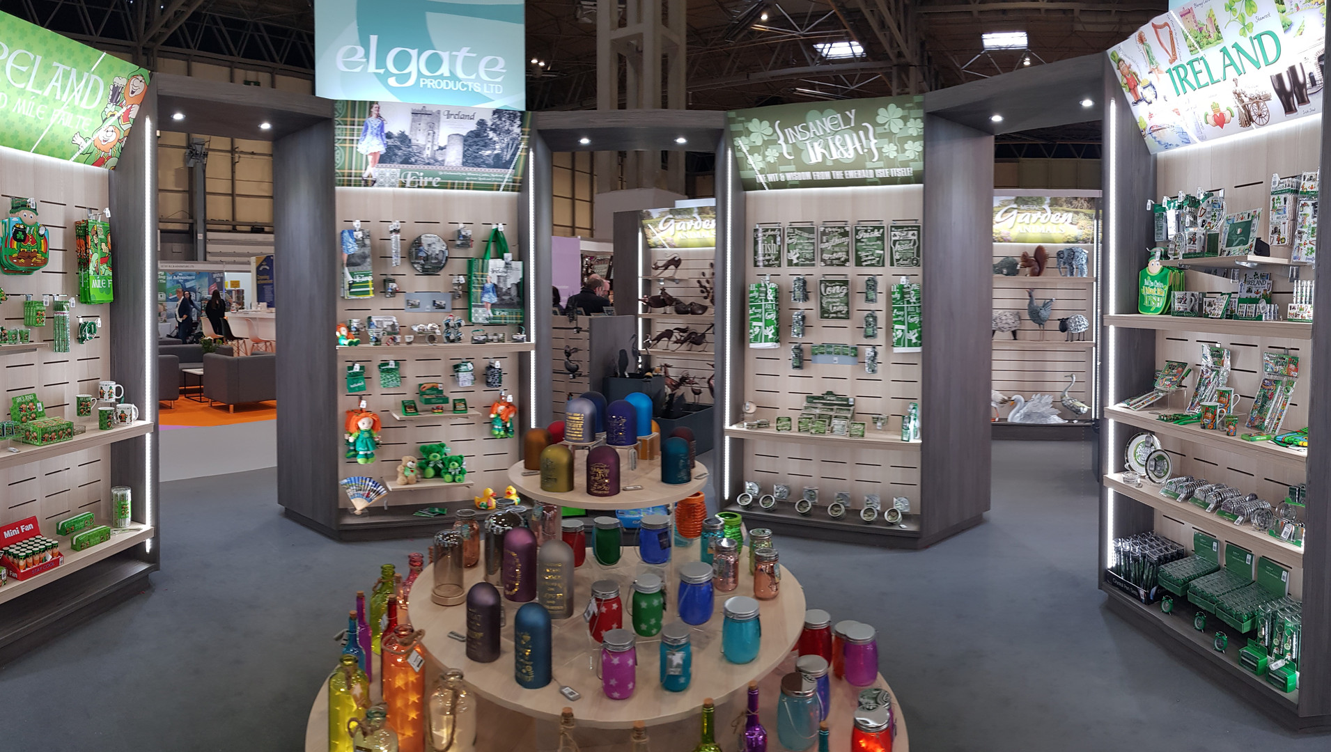 Elgate Exhibition NEC By The New Factory
