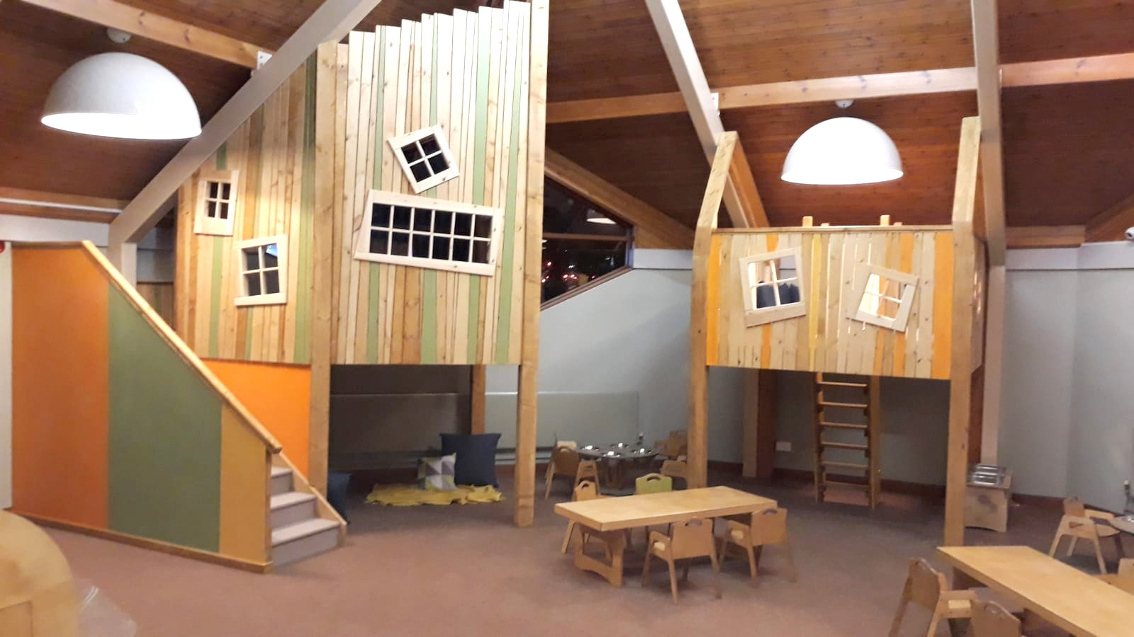 Quirky Mezzanine Spaces For Day Nurseries