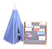 TeePee Tent & Fabric Bookcase