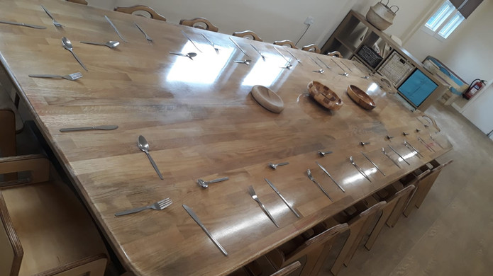 Large Toddler Dining Table