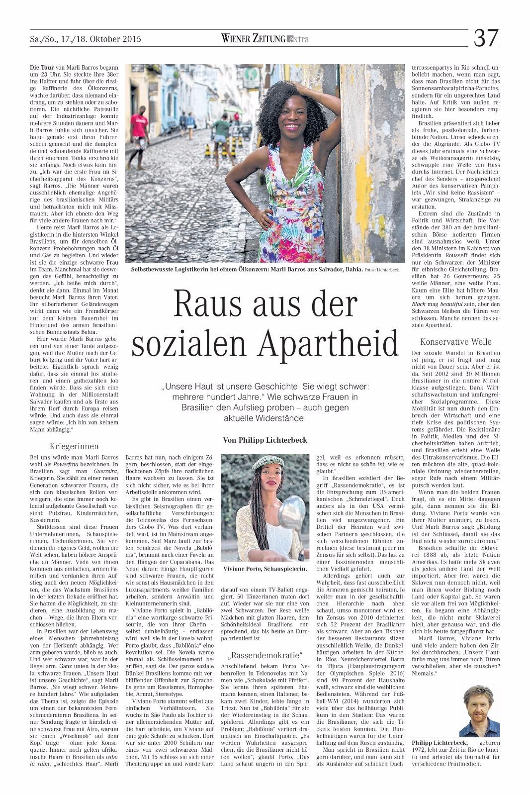 Jornal Rheinpfalz Alemanha pag 4