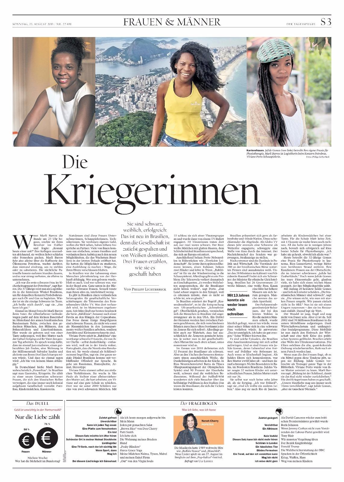 Jornal Rheinpfalz Alemanha pag 1