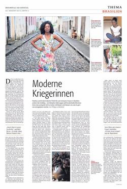 Articolo sul giornale Rheinpfalz