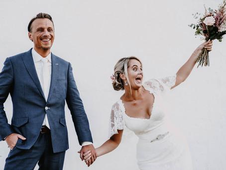 T&A // Rustic Villa Wedding