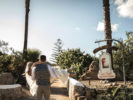 Can Gall - Ibiza // Country wedding