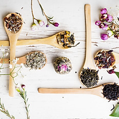Mélange drainant, thé vert et thé noir de chine, rooibos