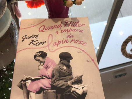"""Quand Hitler s'empara du lapin rose"" - Judith Kerr"