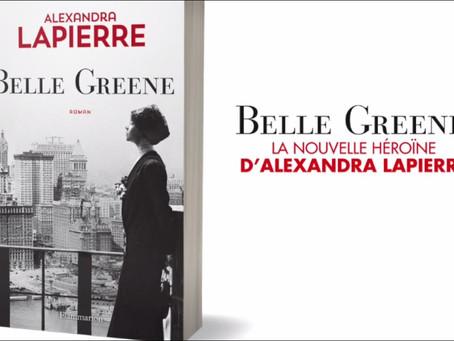 Belle Greene d'Alexandra Lapierre