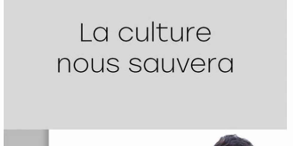 """Avant-première """"La culture nous sauvera"""""""