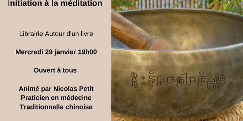 Atelier d'initiation à la méditation