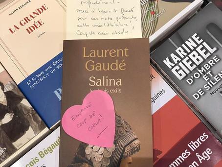 SALINA de Laurent Gaudé