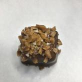 Salty Toffee Crunch Truffle