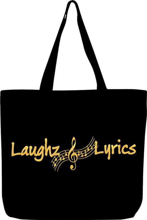 Laughz and Lyrics XL tote