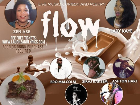 Kwanzaa show- FLOW- Live music, comedy and poetry
