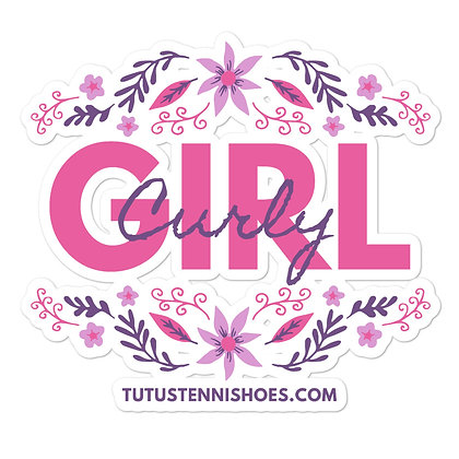 Curly Girl stickers