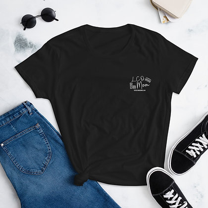 LCO MOM Embroidered Women's short sleeve t-shirt