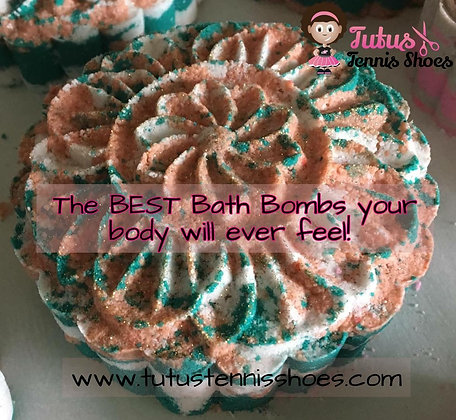 Cake Bath Bombs