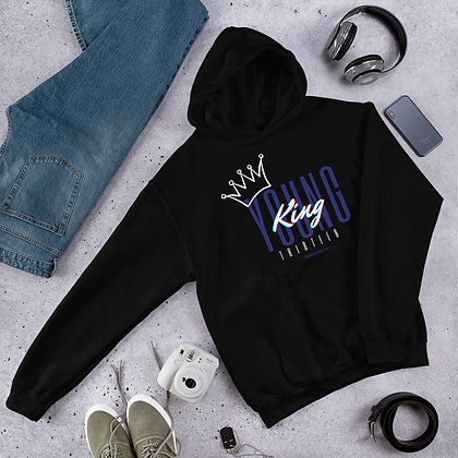 Young King is 13 Hoodie Adult Sizes