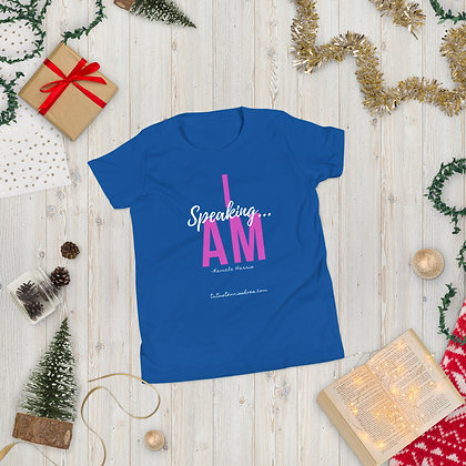 I AM Speaking Youth Tee
