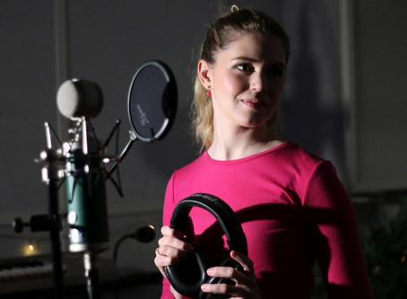 Inspelning i studion!