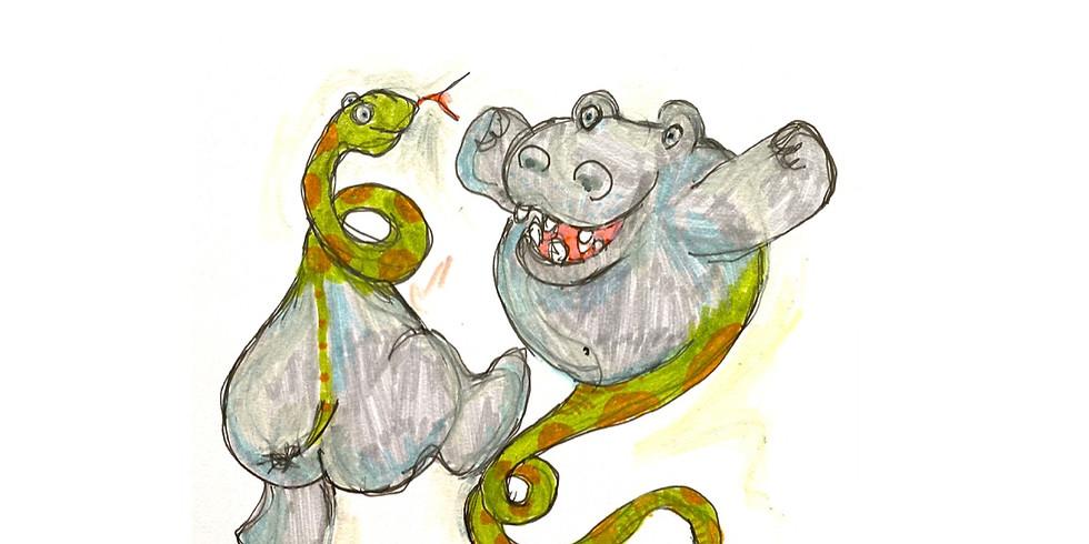 Béatitude de l'hippo et délectations du serpent