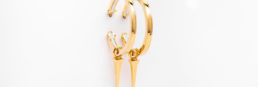 25 mm Gold Hoops