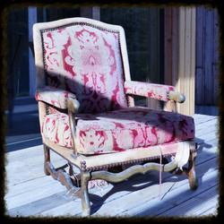 Projet 3 fauteuil Louis XIII