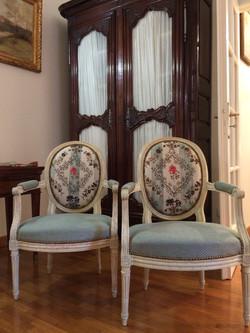 Splendides cabriolets Louis XVI