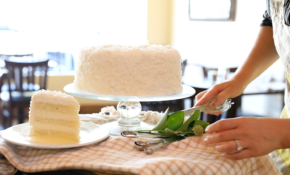 Jane Restaurant Coconut Cake Giveaway