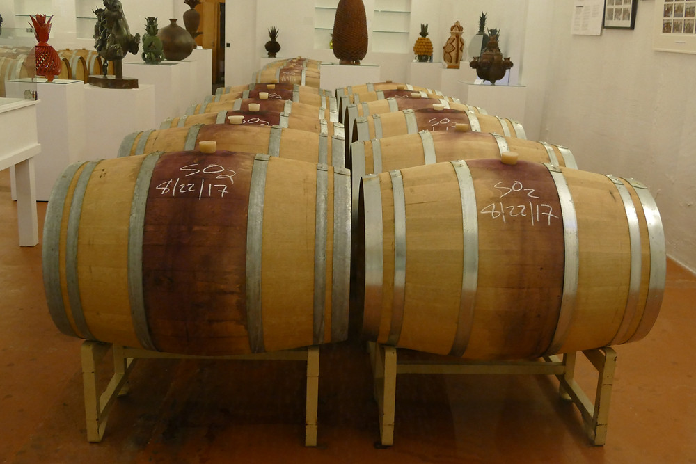 Wine Barrels at Brander Winery in Santa Barbara's Wine Country | Image: Jane Restaurant