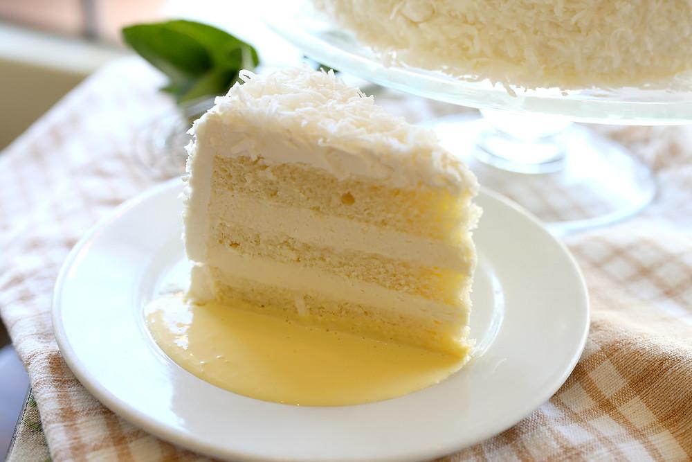 Jane Restaurant Coconut Cake