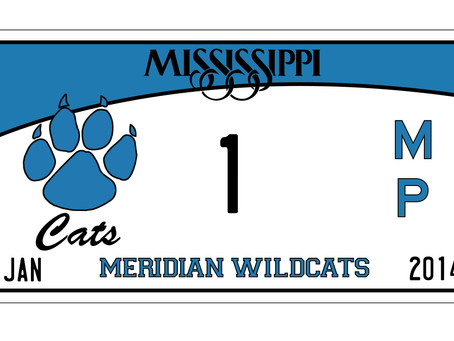 Meridian Wildcat car tags now available