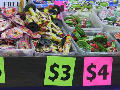 Fireworks sellers see good sales
