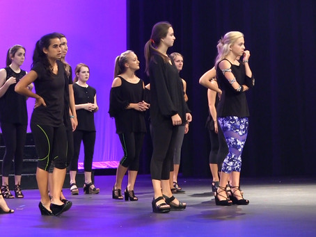 Contestants prepare for Distinguished Young Women's scholarship program