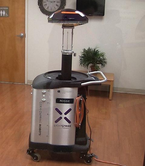 Rush Hospital uses robots to kill germs